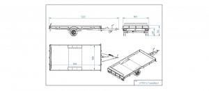 CP390-L/TOUR & RACE/825kg EC0198AK [Kuvat ovat havainnollistavia ja kuvien vaunut saattavat sisältää lisävarusteita]