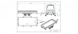CP350-DLH Kippiruuvilla (hitsattu) SC0189AK  [Kuvat ovat havainnollistavia ja kuvien vaunut saattavat sisältää lisävarusteita]