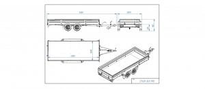 CP400-DLH/PRO Kippiruuvilla (hitsattu) SC0203AK   [Kuvat ovat havainnollistavia ja kuvien vaunut saattavat sisältää lisävarusteita]
