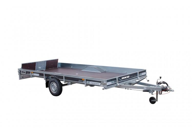 CP430-LB/TOUR & RACE/1400kg EC0196AK Moottorikelkka vaunu [Kuvat ovat havainnollistavia ja kuvien vaunut saattavat sisältää lisävarusteita]
